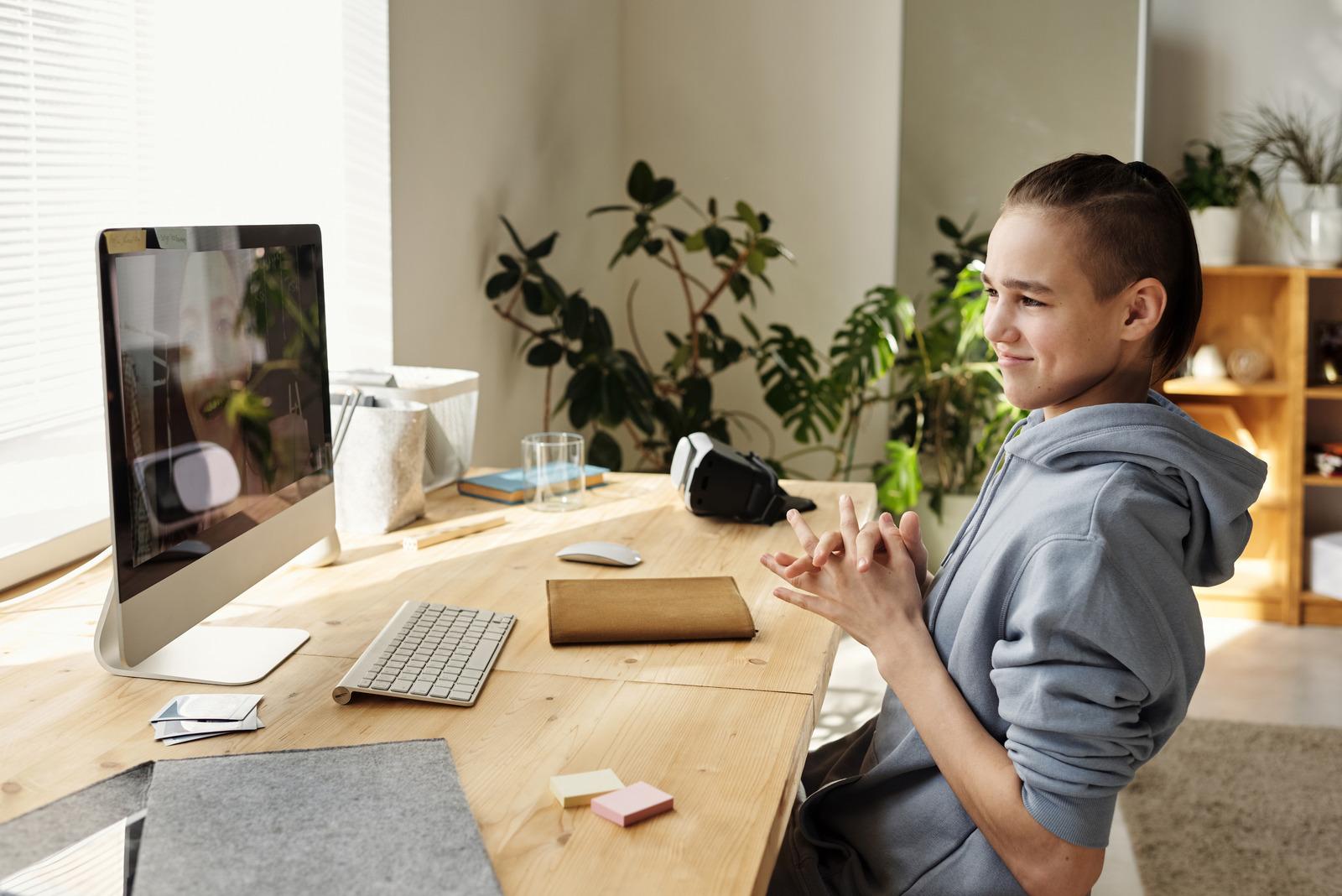 Online tutoring via Zoom